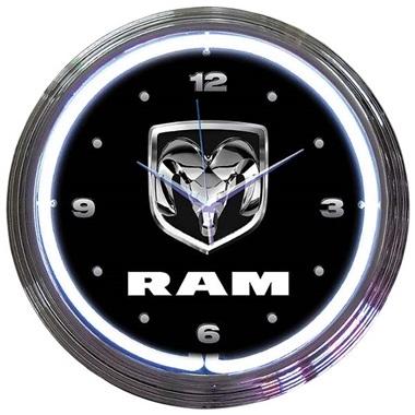 Ram Neon Wall Clock