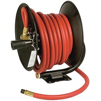 30 Ft Manual Air Hose Reel with Hose