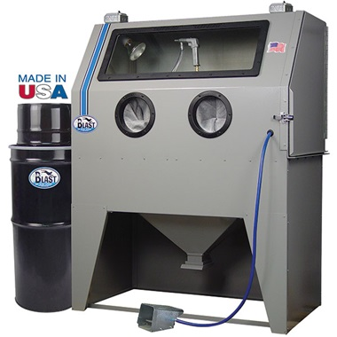 USA 960-DLX Deluxe Abrasive Blasting Cabinet