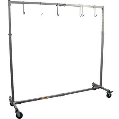 Astro Pneumatic® Mobile Paint Rack