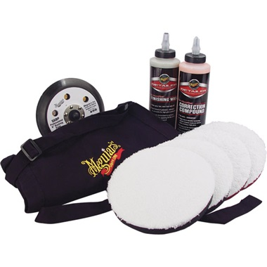 "Meguiar's® 6"" DA Paint Correction Polishing System"