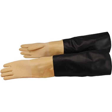 "Super-Pro 32""L Skat Blast Cabinet Gloves, Pair"