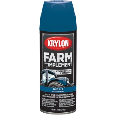 Krylon® Farm & Implement Paint - Ford Blue, 12 oz