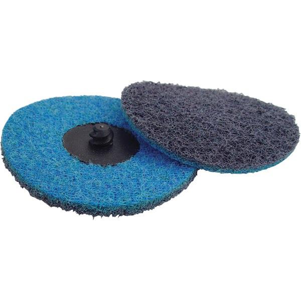 "3"" Quick-Change Surface Conditioning Disc - Fine, Blue - Ea"