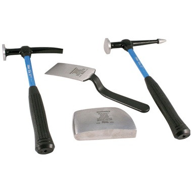 Martin 4-Pc Auto Body Kit with Fiberglass Handles