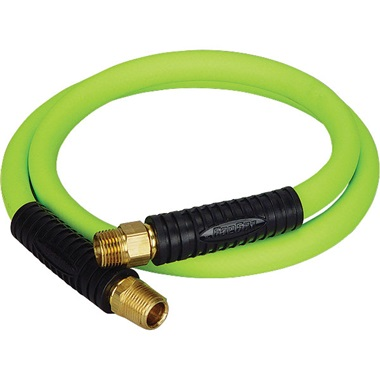"Flexzilla® 4 Ft, 1/2"" ID Whip Hose with 3/8"" Ends"