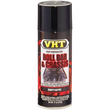 VHT® Roll Bar & Chassis Paint - Gloss Black, 11 oz