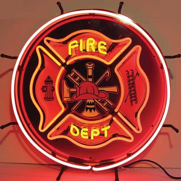 Fire Dept. Neon Sign