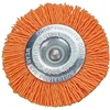 "Dico 3"" Wheel Brush, 120 grit, orange"
