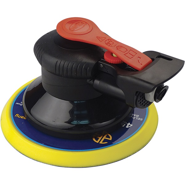 """Onyx by Astro Pneumatic® 6"""" Finishing Air Palm Sander"""