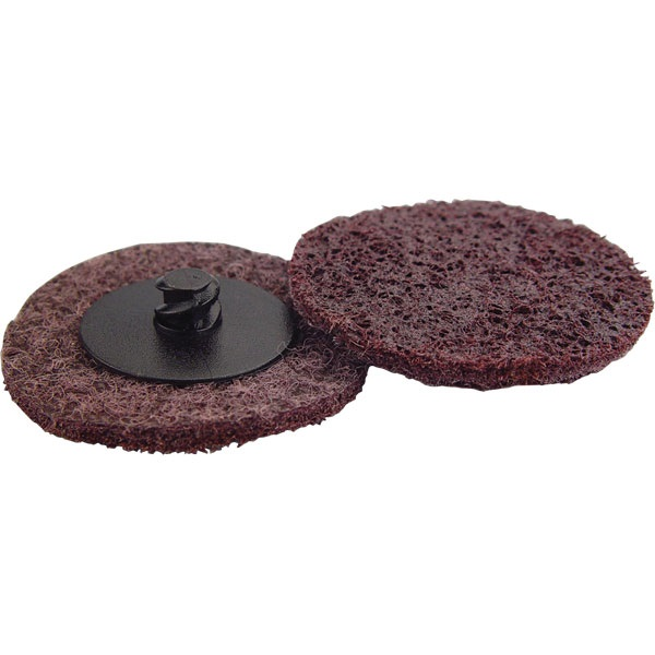 "2"" Quick-Change Surface Conditioning Disc - Med, Maroon - Ea"