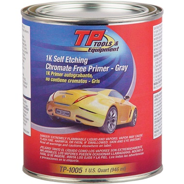 TP Tools® Self-Etch Primer (1K) - Lt Gray, Qt