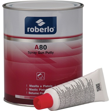 Roberlo® Sprayable Polyester Putty - White, Liter