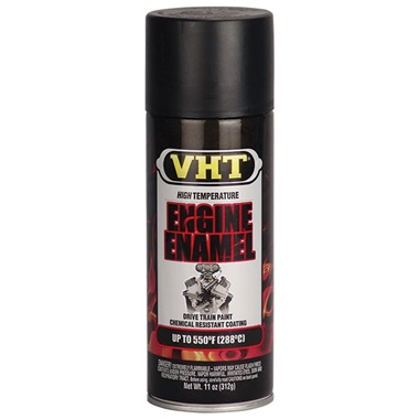 VHT® 550°F Engine Enamel - Satin Black, 11 oz