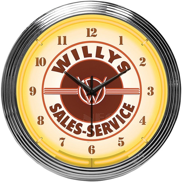 WILLYS Neon Wall Clock