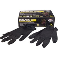 SAS® Raven Professional-Grade Nitrile Work Gloves - Large