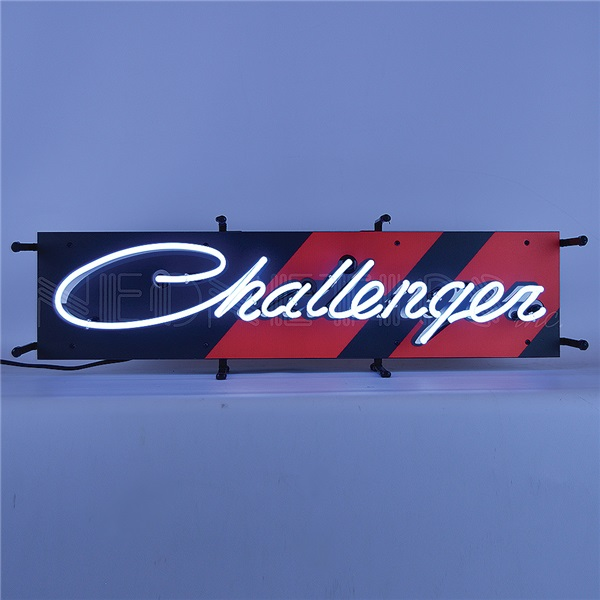Challenger Junior Neon Sign