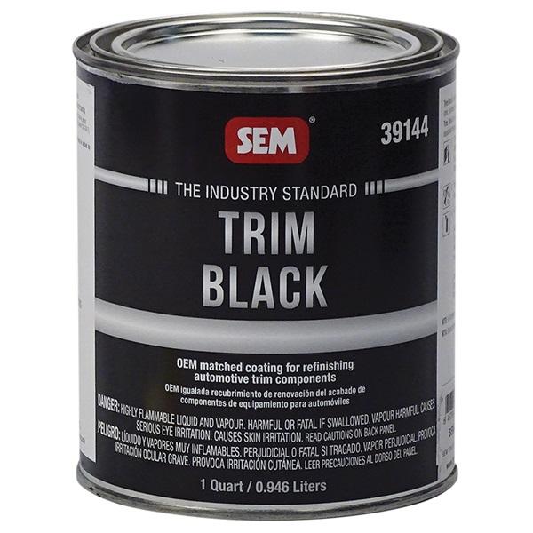 SEM® Trim Black Paint - Qt