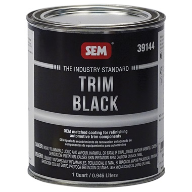 SEM® Trim Black Paint - Qt