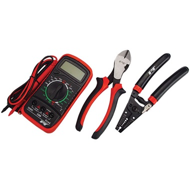 3 Pc Electrician Tool Kit
