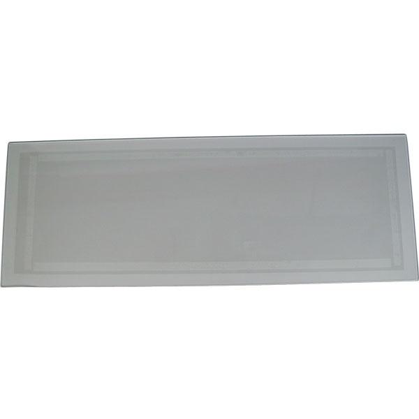 "Medium 12"" x 33"" Tempered Glass Cabinet Lens"