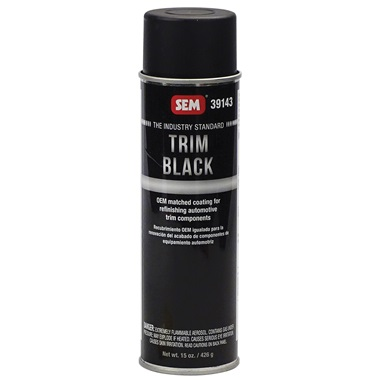 SEM® Trim Black Paint - 15 oz