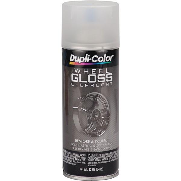 Dupli-Color® Wheel Paint - Gloss Clear, 12 oz