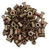 M4 x 0.7 Zinc-Plated Steel Rivet Nuts - 100Pk