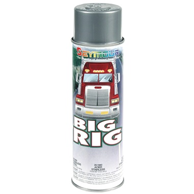 SEYMOUR® Big Rig Stainless Steel Paint, 16 oz
