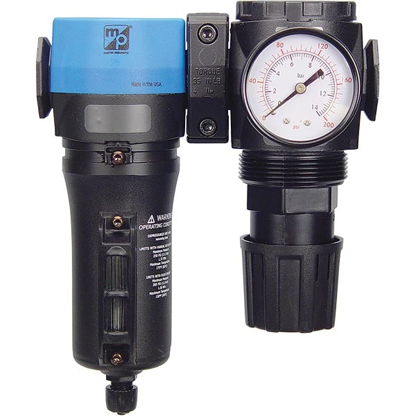 "1/2"" Inline/Modular Air Regulator & Separator Combo"