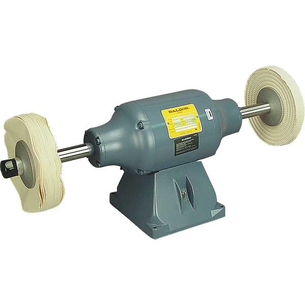 BALDOR® 1-1/2HP Bench-Mount Buffer