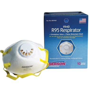Gerson® R95 Respirator/Mask with Check Valve