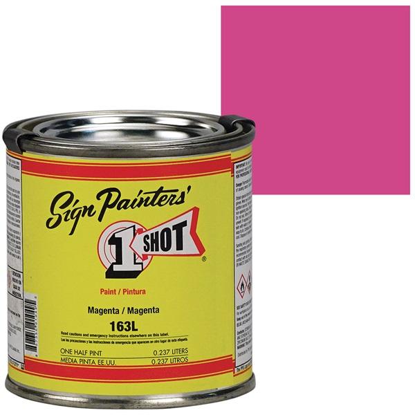 1 Shot® Lettering & Pinstripe Enamel Paint - Magenta
