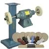 BALDOR® 1-1/2HP Buffer, BALDOR® Cast-Iron Stand & Buffing Kit