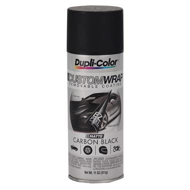 Dupli-Color® Custom Wrap Removable Coating - Matte Carbon Black, 11 oz