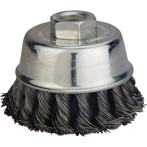 """3"""" Knotted Wire Cup Brush"""