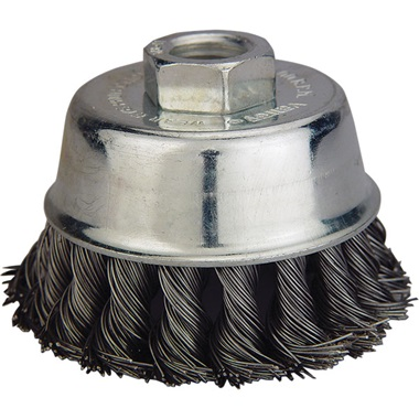 "3"" Knotted Wire Cup Brush"