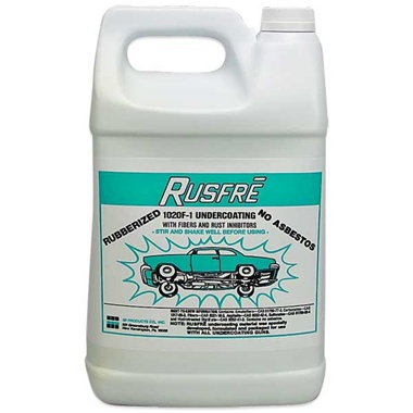 RUSFRE Black Rubberized Spray-On Undercoating