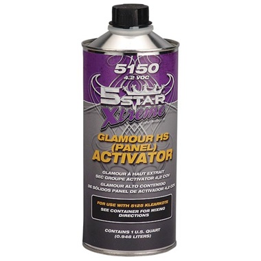 5STAR® Glamour High-Solids Klearkote Activator - Medium, Qt