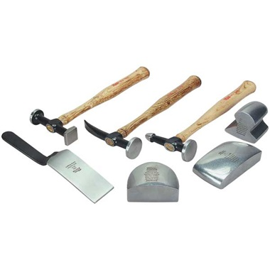 Martin 7-Pc Auto Body Kit - Wood Handles