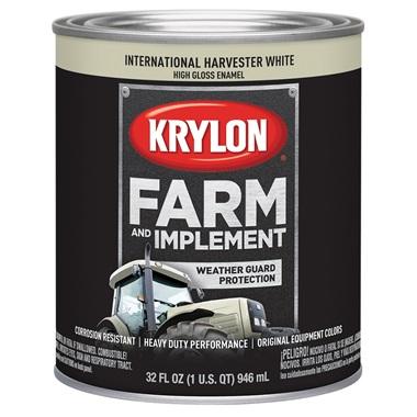 Krylon® Farm & Implement Paint - International Harvester White, Qt