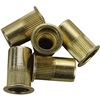 "1/2""-13 Zinc-Plated Steel Rivet Nuts - 5Pk"