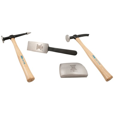 Martin 4-Pc Auto Body Kit with Wood Handles