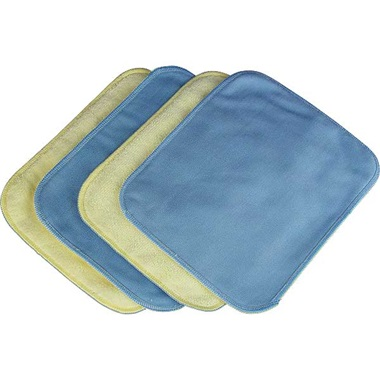 TP Tools® Glass & Interior Micro Fiber Towels - 4 Pk