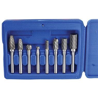 8-Pc Carbide Burr Set