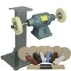 BALDOR® 1-1/2HP Buffer, 11 Ga Steel Stand & Buffing Kit
