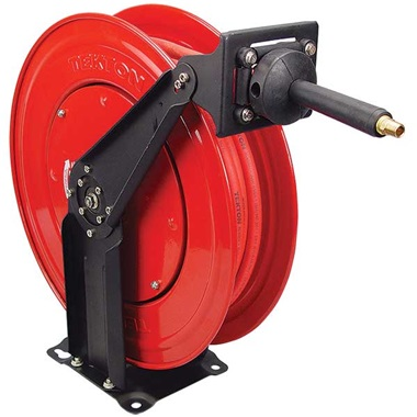"Tekton® Professional 3/8"" x 50 Ft Air Hose Reel with USA-MADE Hose"