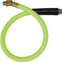"Flexzilla® 4 Ft, 3/8"" ID Whip Hose with 1/4"" Ends"