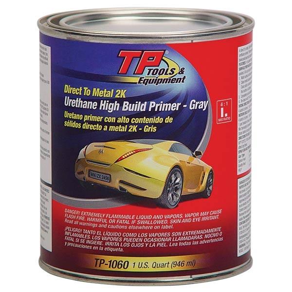 """TP Tools® """"3-IN-1"""" Urethane Primer (2K) DTM - Gray, Qt"""