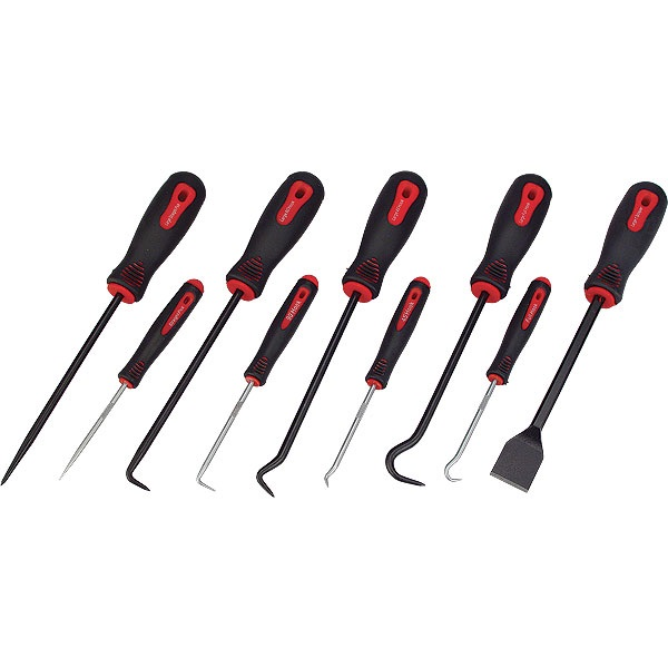 ATD 9-Pc Scraper Hook & Pick Set